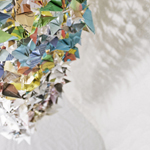 <h1>1000 Cranes</h1><h2>Sculpture for Healing</h2>