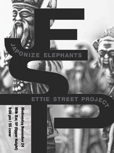 Ettie Street Project flyer 5